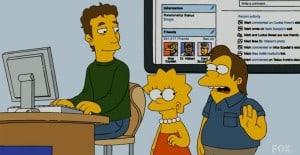 Mark Zuckerberg, Gastrolle bei den Simpsons