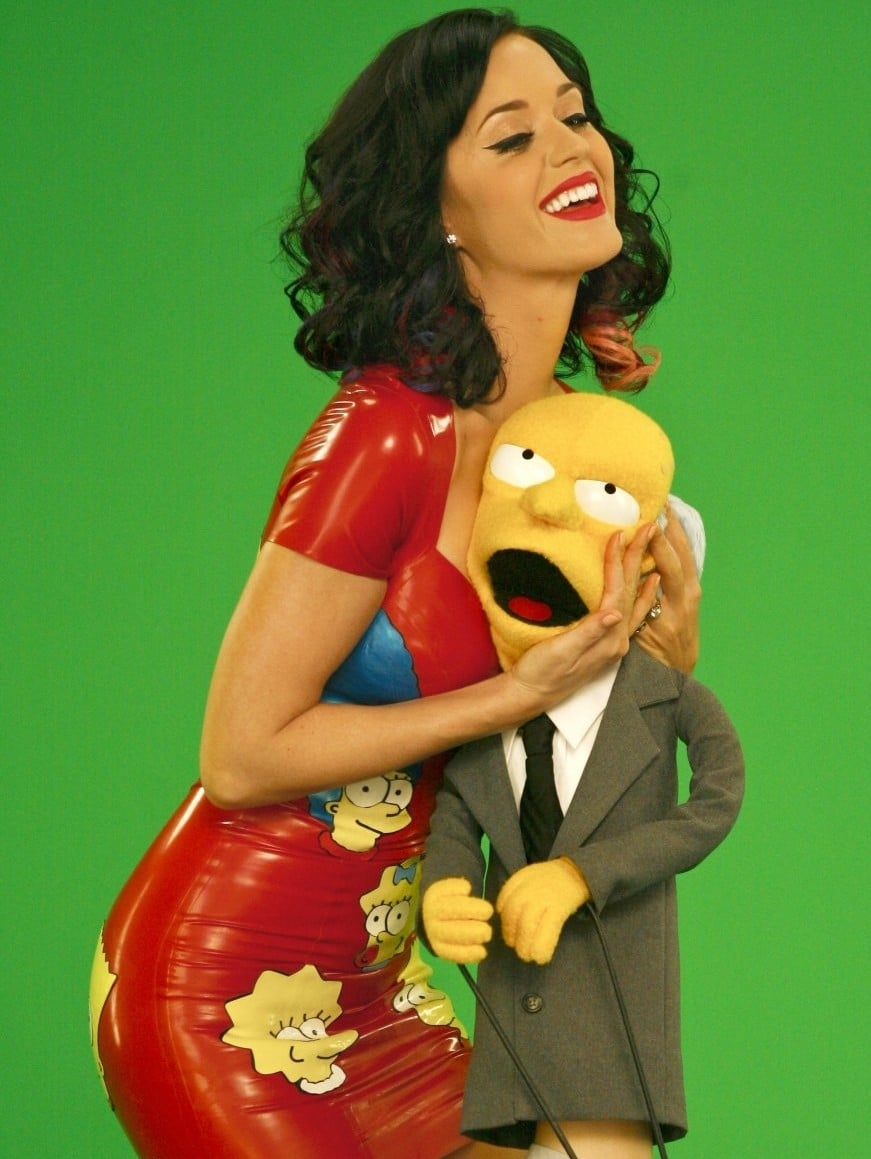 Katy Perry, Gastrolle bei den Simpsons