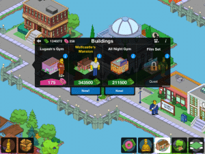 Tapped OUT Rainer Wolfcastle Update
