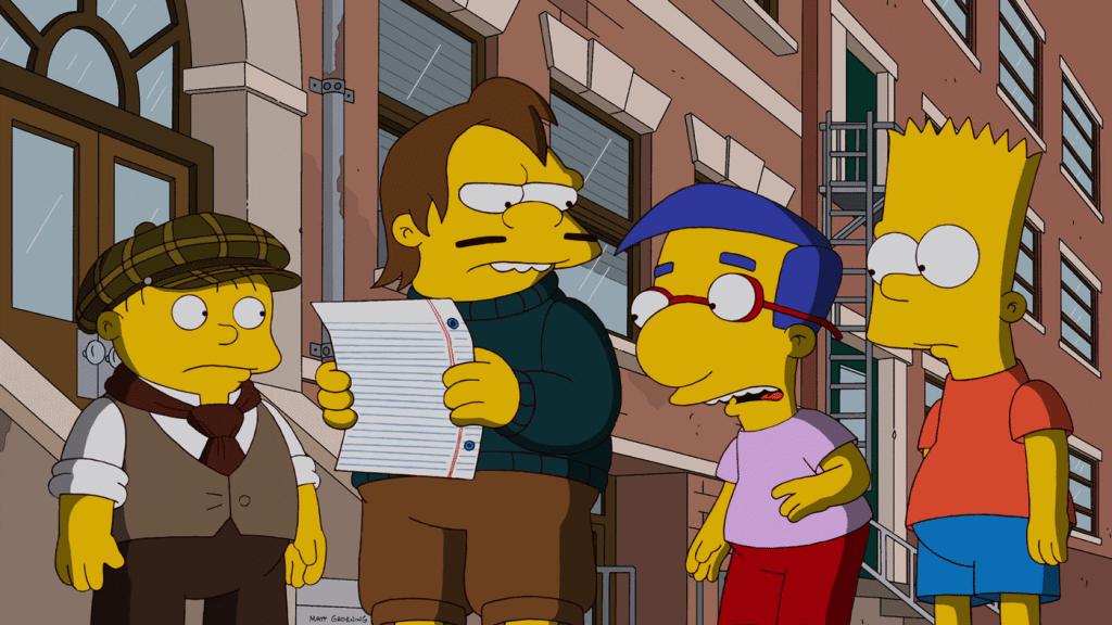 """24. Staffel, 3. Folge - PABF13, Titel """"Homers vergessene Kinder"""""""
