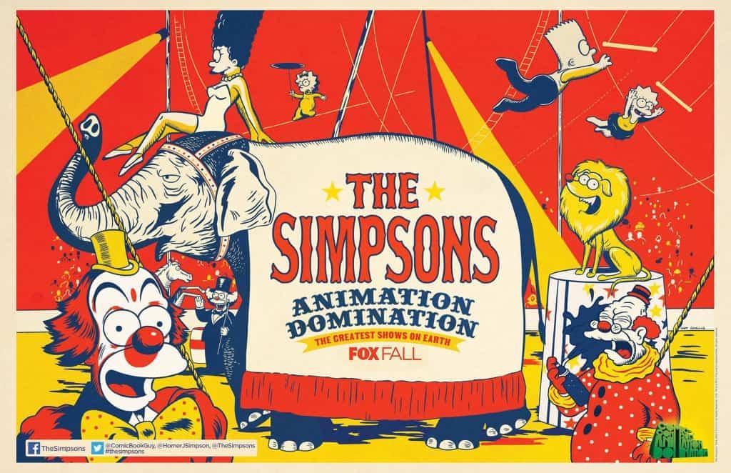 Simpsons Comic-Con Poster