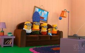Minions im Simpsons Style