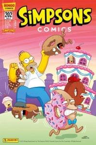 Simpsons Panini Comic Ausgabe 202