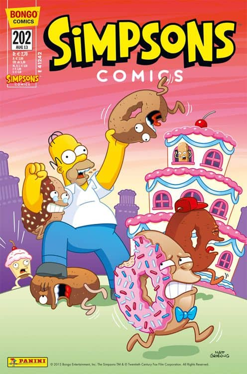 Simpsons Panini Comic Ausgabe 202