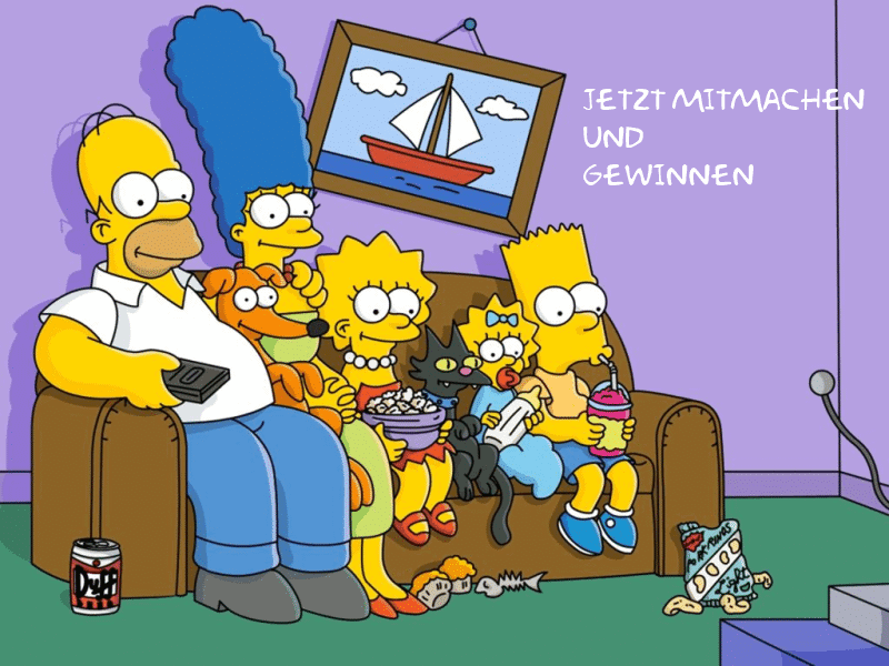 Gewinne Simpsons Buch