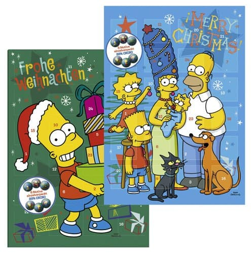 kalender simpsons 2013 weihnachten die simpsons fanpage. Black Bedroom Furniture Sets. Home Design Ideas
