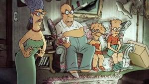 Simpsons Couchgag von Sylvain Chomet
