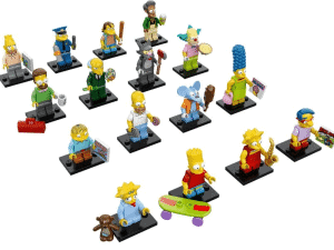 Simpsons Lego Figuren