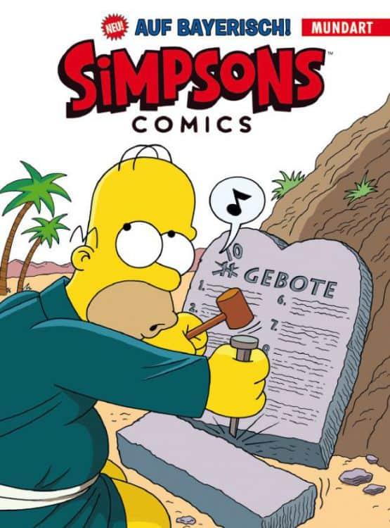 Simpsons auf Bayrisch
