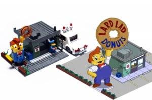 Springfield Gebäude aus LEGO