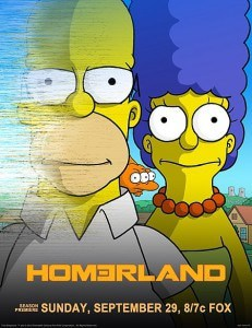 Staffel 25. Erste Folge Homerland ab 1. September auf ProSieben - Simpsons