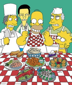 Homer als Restaurantkritiker