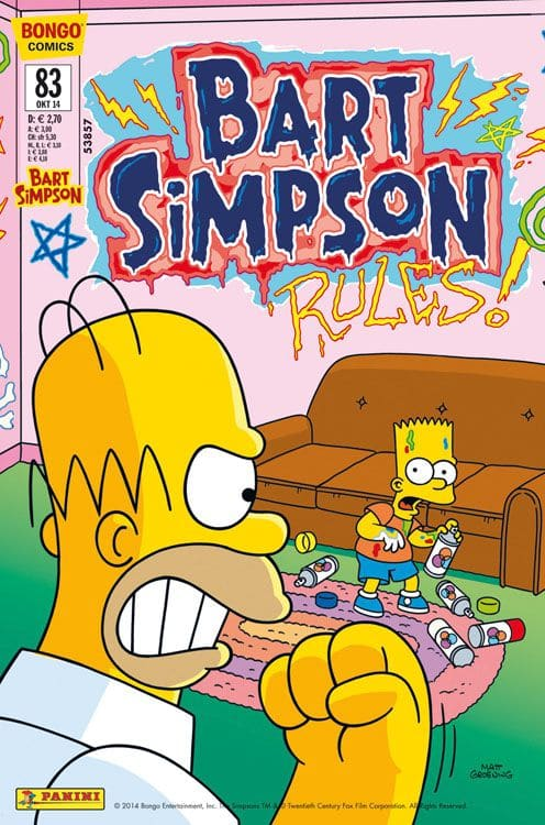 Bart Simpson Comic #83