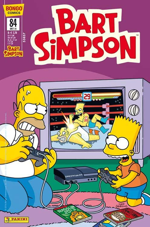 Bart Simpson Comic 84