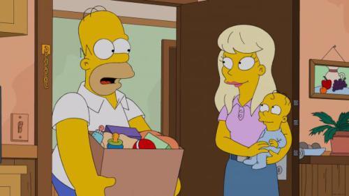 Homer bleibt mit einer hochschwangeren Frau im Aufzug stecken. Mit seiner Hilfe bekommt sie dort ihr Kind - und nennt es aus Dankbarkeit Homer Junior. Homer entwickelt bald eine erstaunliche Zuneigung zu dem Kind. Irgendwann verbringt er mit ihm mehr Zeit als mit seiner eigenen Familie. Als Marge herausfindet, wo sich Homer nach der Arbeit immer...