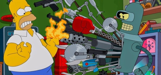Homer meets Bender (Simpsorama)