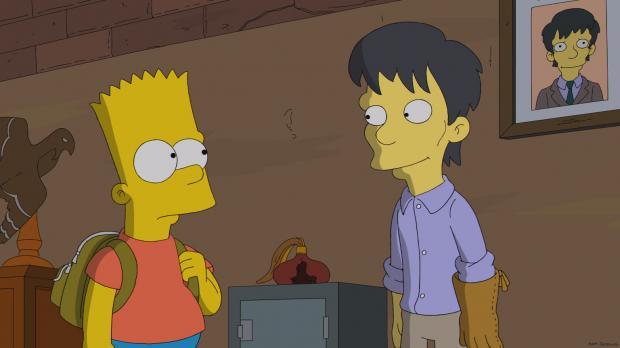 Simpsons – Erstaustrahlung – Home TV Die Simpsons Episoden Durch Diggs und dünn Home 25 Jahre Simpsons Voting Synchro-Special Bios Video Zitate Darsteller Bilder Episoden Facts Mo 12.01.2015, 20:15 Durch Diggs und dünn