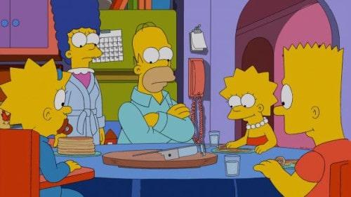 Als Weihnachtsgeschenk bekommen Homer und seine Kollegen im Kernkraftwerk eine hypermoderne Datenbrille. Natürlich hat Mr. Burns das Geschenk nicht ohne Hintergedanken ausgewählt. Über die Kamera in der Brille kann er seinen Angestellten nachspionieren. Als Homer Marge die Brille ausleiht, entdeckt er, dass Marge jeden Mittwoch zum Psychiater ge..