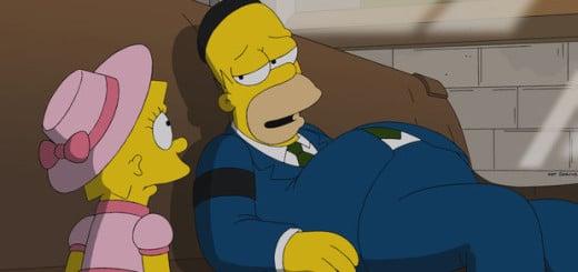 Krusty wird vor laufender Kamera reingelegt. Das stimmt ihn sehr traurig und mündet in einer tiefen Sinnkrise. Ein Gespräch mit seinem Vater soll ihm wieder auf die Beine helfen. Doch es wird alles noch schlimmer, als dieser während der Unterhaltung verstirbt. Krusty weiß nicht mehr ein noch aus ...