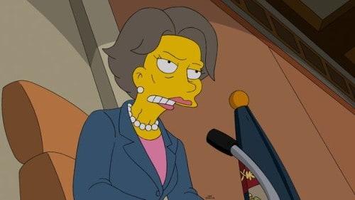 Als Patty und Selma vorrübergehend bei den Simpsons wohnen und im Badezimmer heimlich rauchen, explodiert dieses plötzlich und das Wasser steht in Flammen. Lisa ist sofort klar, dass der Grund dafür nur Fracking sein kann. Als alle Spuren zu Mr. Burns führen, ruft Lisa die Umweltaktivistin und Politikerin Maxine Lombart auf den Plan. Doch Amor s..