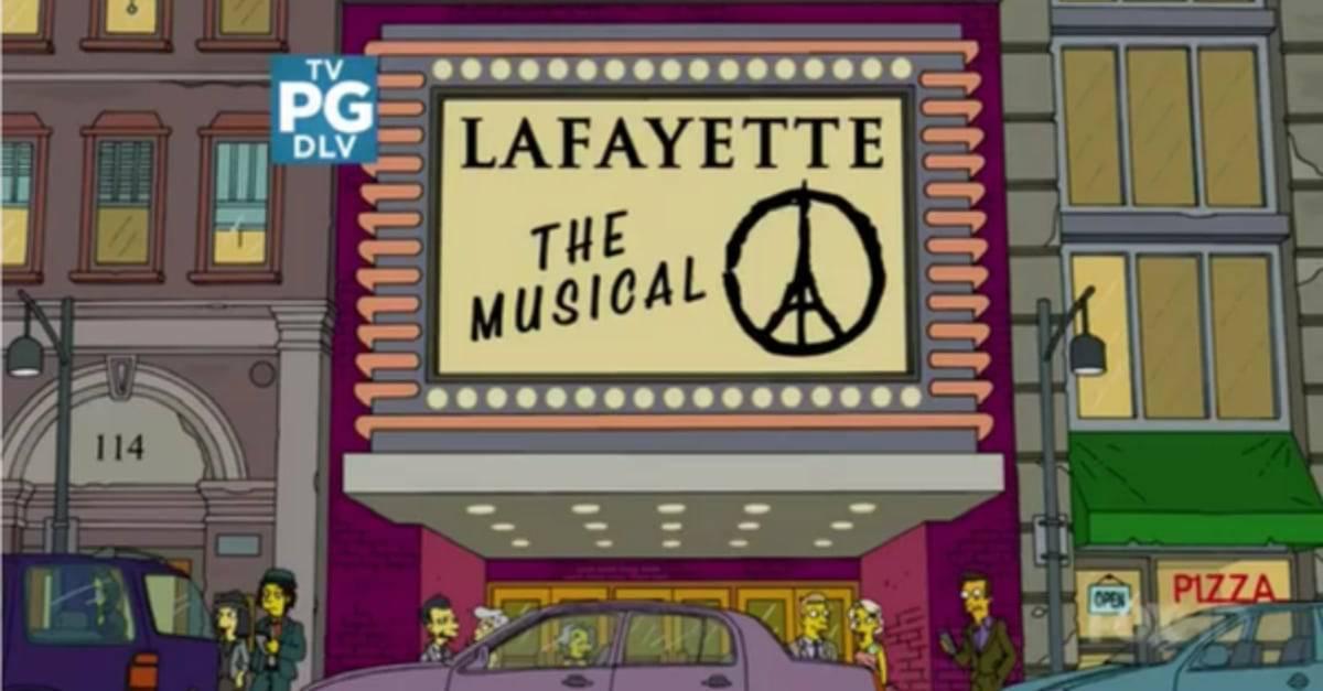 Simpsons gedenken Opfer von Paris