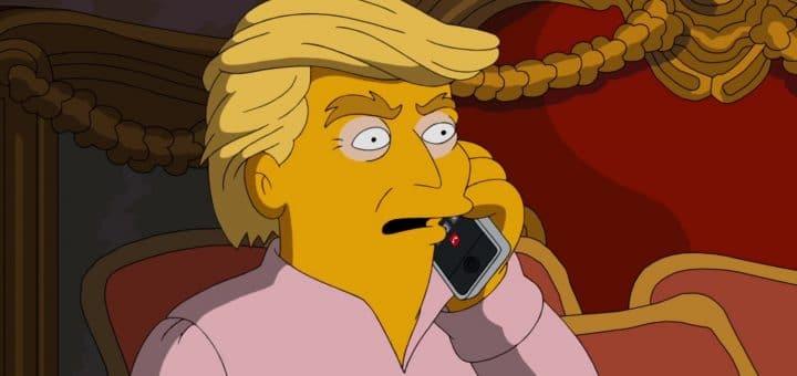 Donald Trump und die Simpsons
