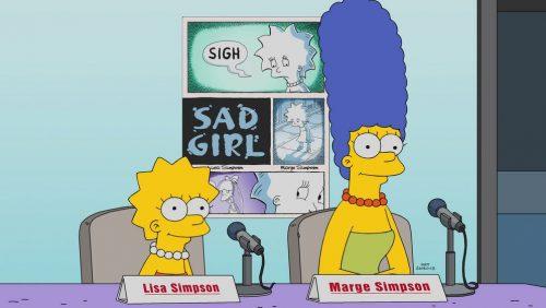 Sad Girl - 29. Staffel - Simpsons