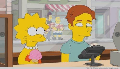 Ausgerechnet als sich Lisa (l.) in den arroganten Musiker Brendan (r.) verliebt, entdeckt auch Nelson seine Liebe für Lisa wieder. Jetzt muss sie sich zwischen den beiden entscheiden .